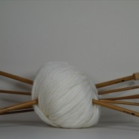 BAMBOO KNITTING NEEDLES 35 cm
