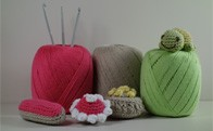 Crochet yarns